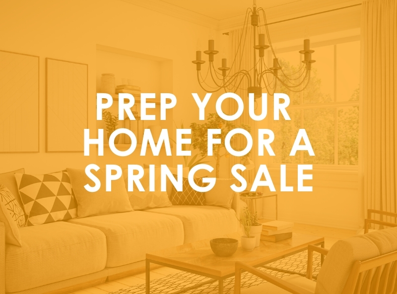 Prep Your Home For a Spring Sale