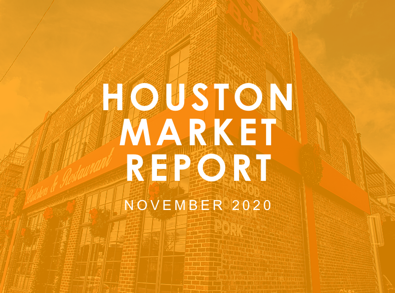 Houston Market Report: November 2020