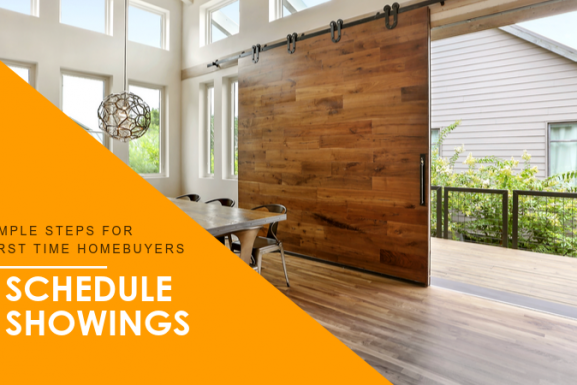 Houston First-time Home Buyer Step # 5: Schedule Showings