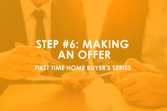 Houston First-time Home Buyer Step #6: Making an Offer