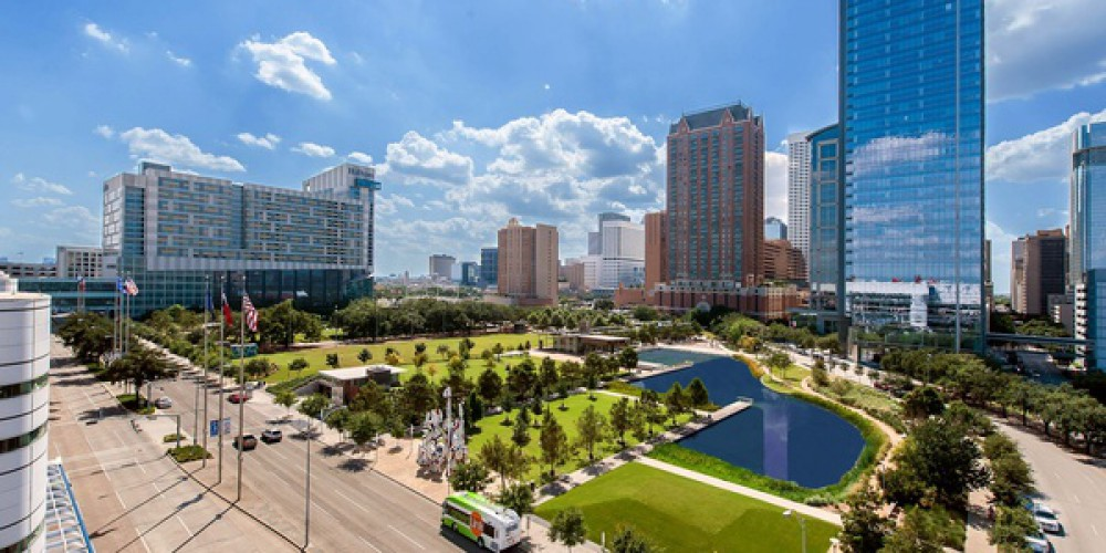 Discovery Green is located in Downtown Houston